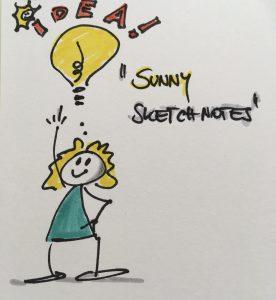 #sunnysketchnotes (c) Alexandra Heiglauer